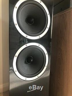 Bowers & Wilkins B&W CM9 Floorstanding Speakers Stereo/Home Cinema Piano Black