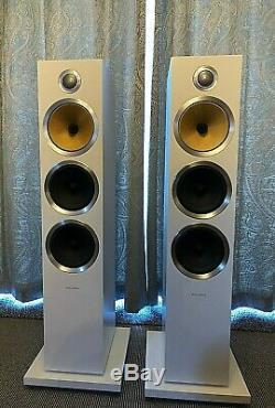 Bowers Wilkins B&W CM9 S2 speakers pair in white