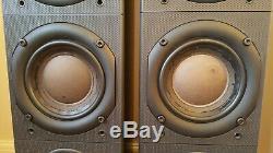 Bowers & Wilkins B&W DM603 S2 Floor Standing Speakers. Black Ash
