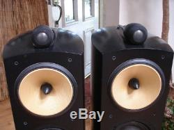 Bowers & Wilkins B&W Nautilus 804 Floor-standing Stereo Speakers in Black Ash