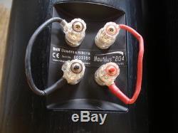Bowers & Wilkins B&W Nautilus 804 Floor-standing Stereo Speakers in Black Ash