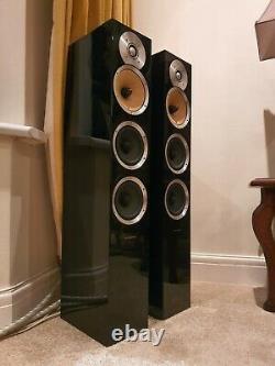 Bowers and Wilkins CM8 CM 8 B&W Floorstanding Tower Speaker Gloss Black