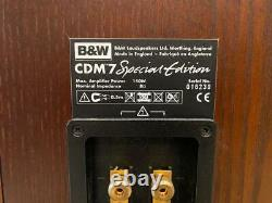 Bowers & wilkins B&W CDM7 SE Special Edition SPEAKERS Superb Examples GWO