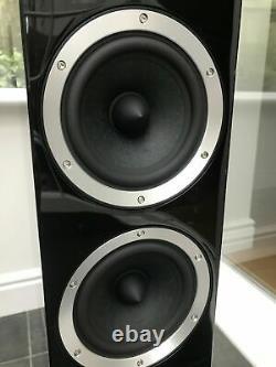 Boxed! B&W Bowers & Wilkins CM8 150W Floor Speakers Piano Black