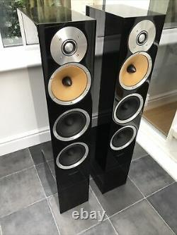 Boxed! B&W CM8 Bowers and Wilkins Speakers Audiophile Gloss Black 1