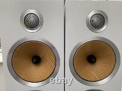 Boxed! B&W CM9 S2 White 200W Bowers Wilkins Floor Standing Speakers Audiophile