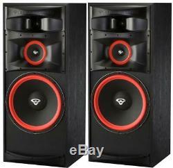 CERWIN VEGA XLS-15 Floor Standing Speaker Pair Tower Loudspeakers Hifi Audio