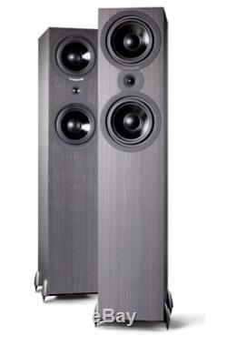 Cambridge Audio SX80 Floorstanding Speakers Pair Black. New, + UK delivery