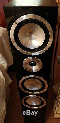 Canton Chrono 509.2 DC Floor Standing Stereo Speakers Pair Black RRP £2800