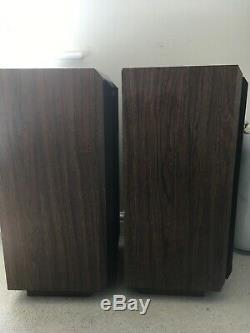 Cerwin Vega At 10 Rare Floor Standing Speakers