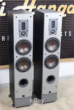 DALI IKON 5 Compact Floor Standing SPEAKERS Ribbon Tweeter SUPER SOUND