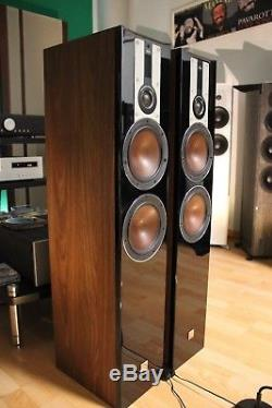 DALI Opticon 6 Floorstanding Speakers PAIR in Walnut