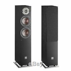 Dali Oberon 5 Floor standing Pair Speakers Black 4 months Old (See Description)