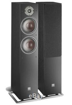 Dali Oberon 7 Pair Floorstanding Speaker Black Ash