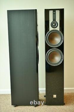 Dali Opticon 6 Black Ash Floorstanding Speakers Mint