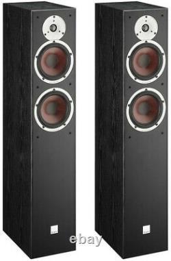 Dali Spektor 6 Speakers Black PAIR Home Floor Standing Loudspeaker