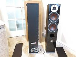 Dali Zensor 5 Floor Standing Designer Home Cinema Speakers Pair Blackboxeduk