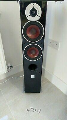 Dali Zensor 5 Floorstanding Stereo Speakers In Black