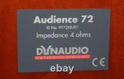 Dynaudio Audience 72 Floor Standing Speakers Rosewood finish