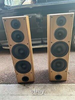 ELTAX XTREME 400 2 POWERFUL Floor Standing Speakers Wooden 1071 Big Pair Of