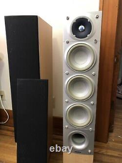 ENERGY Pair of C-7M-1 CONNOISSEUR Floorstanding Loud tower Speakers made CANADA