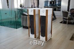Ex-Display Bowers & Wilkins (B&W) CM10 S2 Floor Standing Speakers in Satin White