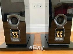 Excellent Boxed Bowers & Wilkins B&W CM9 Floorstanding Gloss Black Pair Speakers