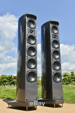 FLAGSHIP Mission ELEGANTE E82 Floorstanding Speakers 3-Way PILASTRO Design
