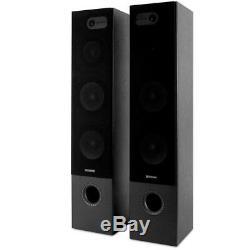 FLOOR STANDING 500W HOME CINEMA Theatre Hifi Tower Speakers 2x 8 250W Pair