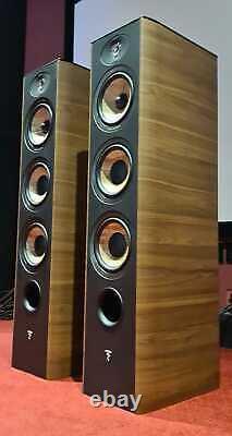 FOCAL Aria 926 Floor Standing Speakers Black/Walnut CTI NIN-1358