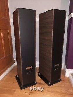 FOCAL Aria 926 Floor Standing Speakers Black/Walnut Excellent Condition