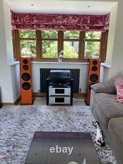 Floorstanding Speakers. 3-way very high end audiophile. HiFi Loudspeakers