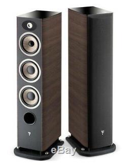 Focal Aria 926 250W Floorstanding Tower Speakers Per Pair Walnut