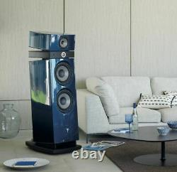 Focal Maestro utopia 3 Floor Standing Speaker Pair Blue Ex demo NIN-0831