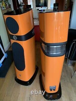 Focal Sopra 2 N2 Floorstanding Speakers Orange Cherished Umarked