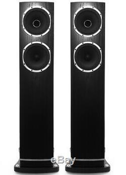 Fyne Audio F501 Pair What HiFi Award Winner 2018 Black Floor Standing Speakers