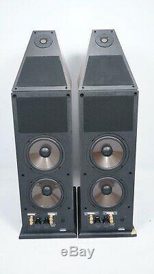 Genesis V Dipole Floorstanding Speakers with Dedicated Servo Bass Amplifier