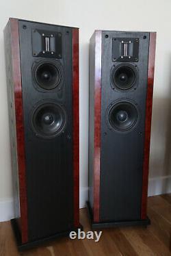 Heybrook Sextet Floor Standing Speakers Black And Walnut A Rare British Classic