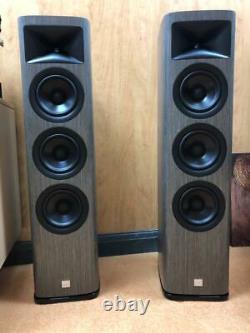JBL Synthesis HDI-3600 Floorstanding Speakers, Grey, Store Display Pair
