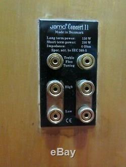 Jamo Concert 11 Hi End Floorstanding Speakers