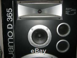 Jamo D365 pair of floor standing HiFi Speakers Rare 3 way