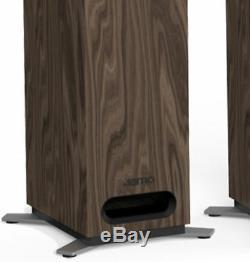 Jamo S805 Floorstanding Tower Speaker Pair Hifi / Home Cinema Walnut