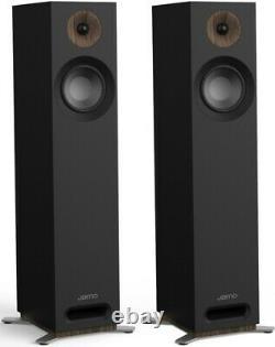Jamo S805 Speakers PAIR Black Floor Standing Loudspeakers Front Port