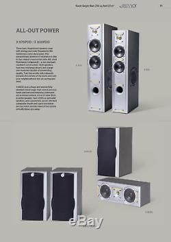 Jamo X 850 floorstanding speakers 150-200 Watt brand new worldwide shipping