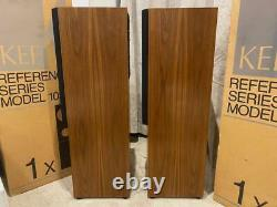 KEF 103/4 Reference Series Speakers RE-Foamed Exceptional pair SUPERB! BOXED