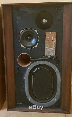 KEF Concerto Speakers Vintage Hi-Fi Audiophile 1970s Floor Standing