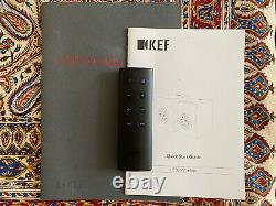KEF LS50 Wireless Active Sound System Speakers Gloss Black