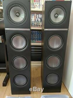 KEF Q700 Speakers Walnut. Twin floor standing speakers. Good conition