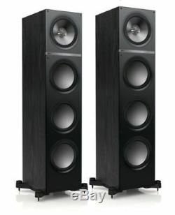 KEF Q900 Floor Standing Speakers Black CTI NIN-0480
