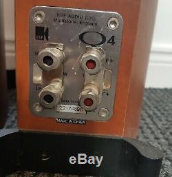 KEF Q-4 Speakers 3-way Floor Standing
